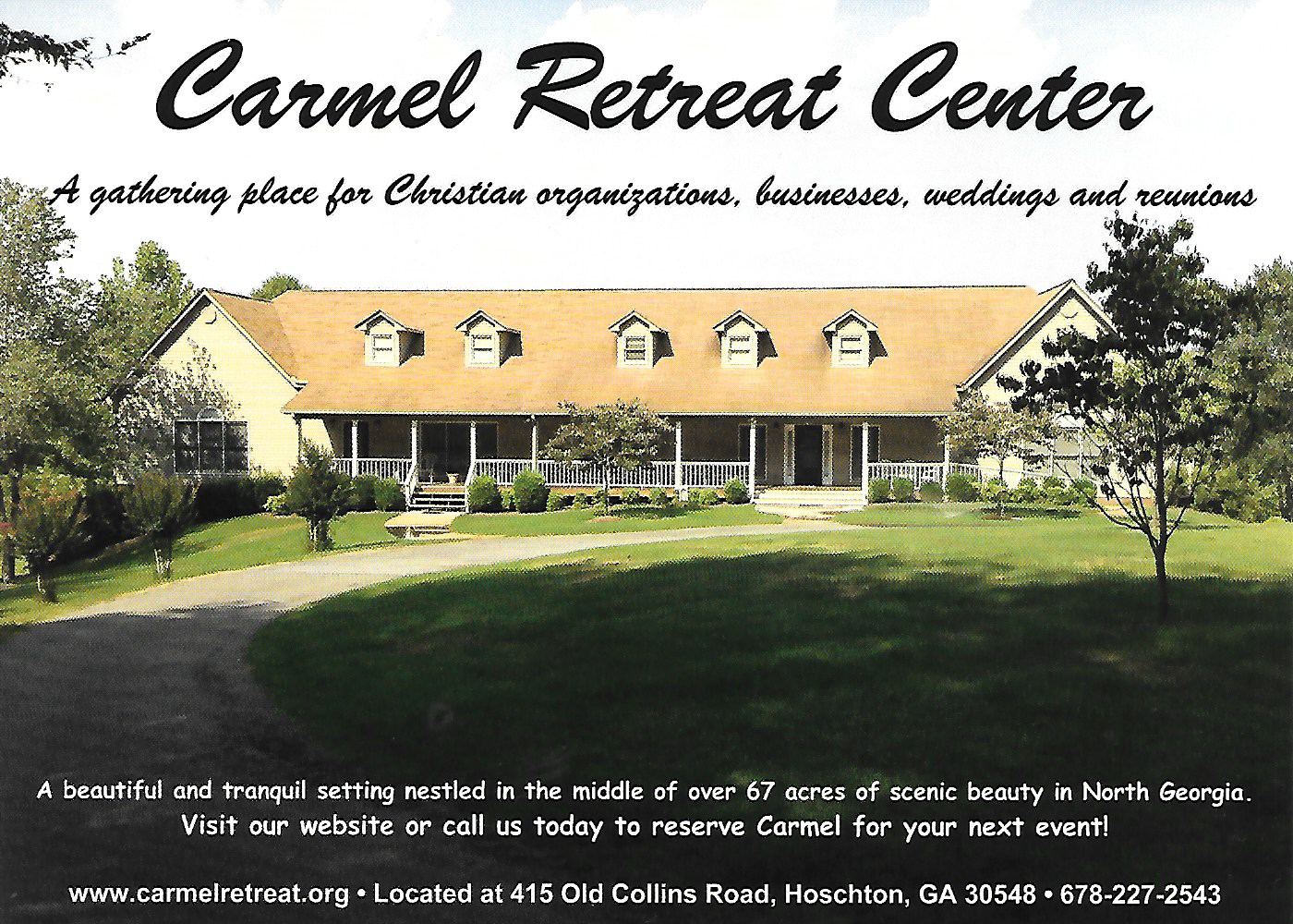Carmel Retreat Center